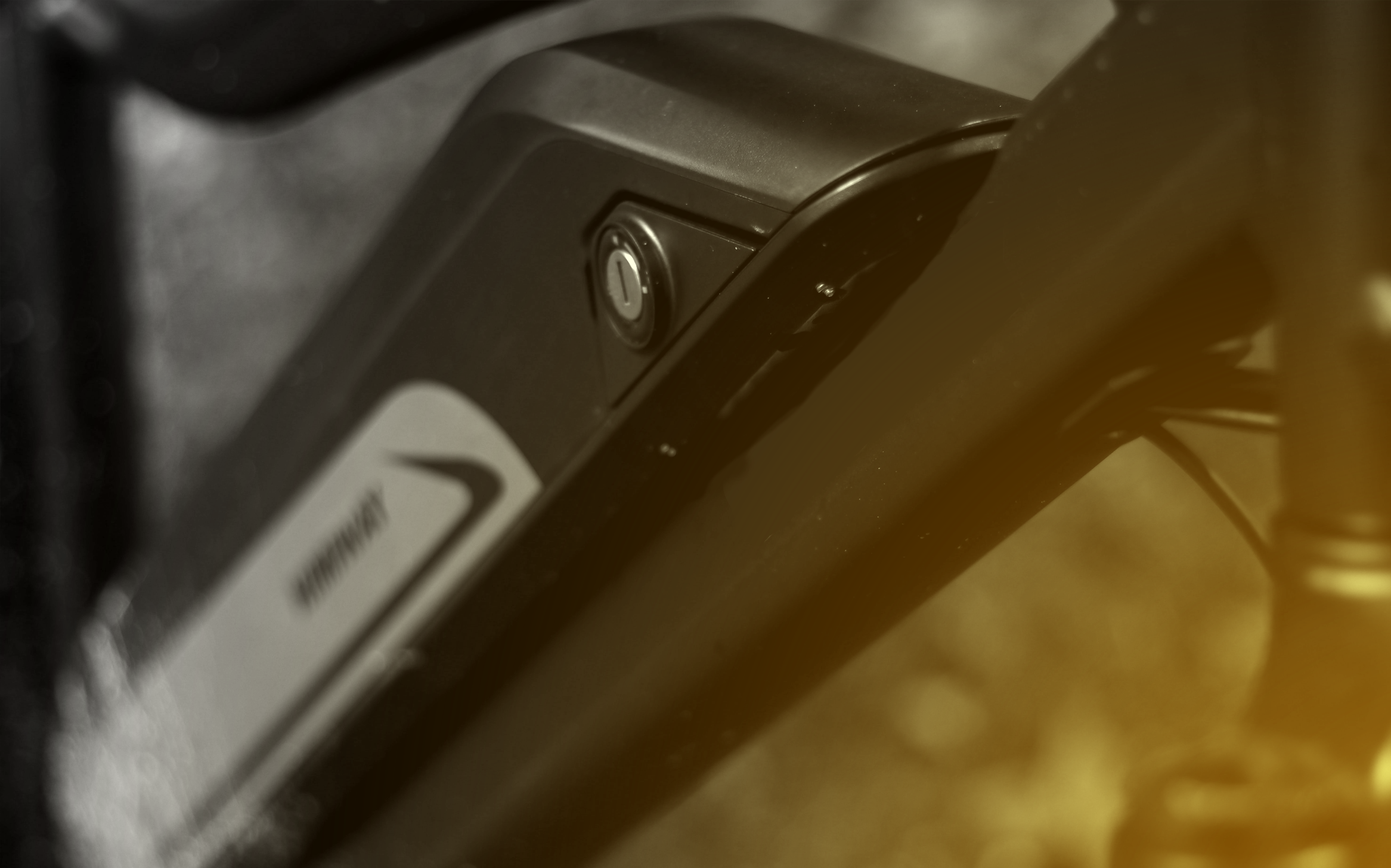 The battery of an e-bike